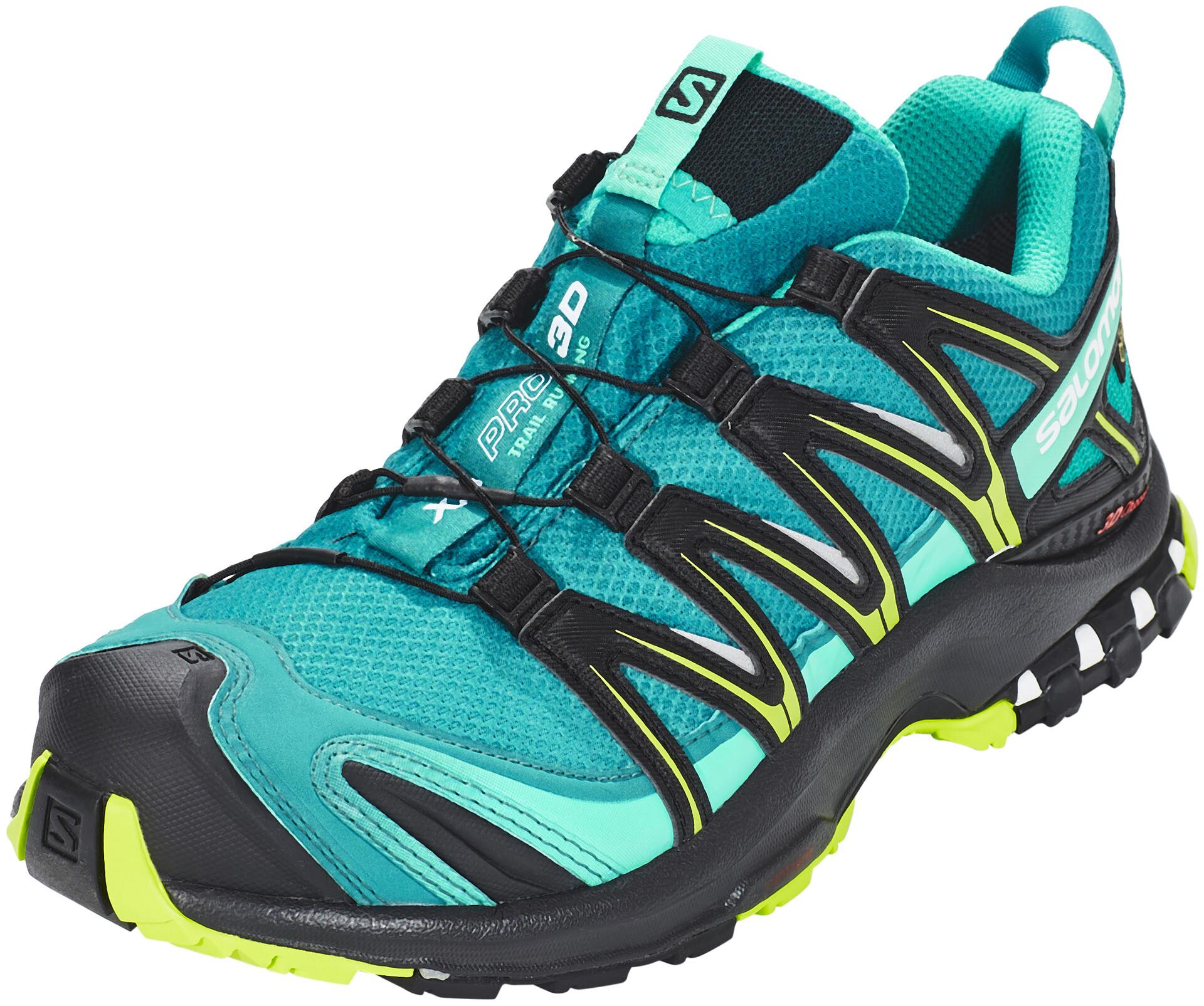 Running Xa Gtx Chaussures 3d Bleu Salomon Pro Sur Femme Pétrole PtqwdX
